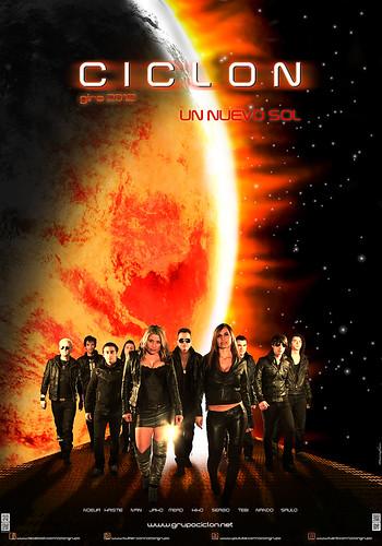 Ciclón 2012 - grupo - cartel