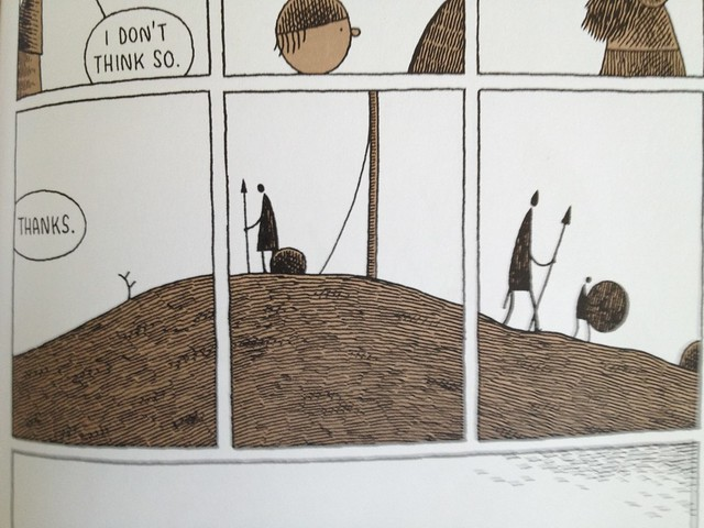Goliath, by Tom Gauld
