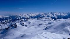 Widok z szczytu Rastkogel
