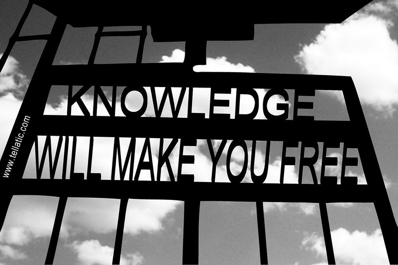 Knowledge will make you free - tellatic