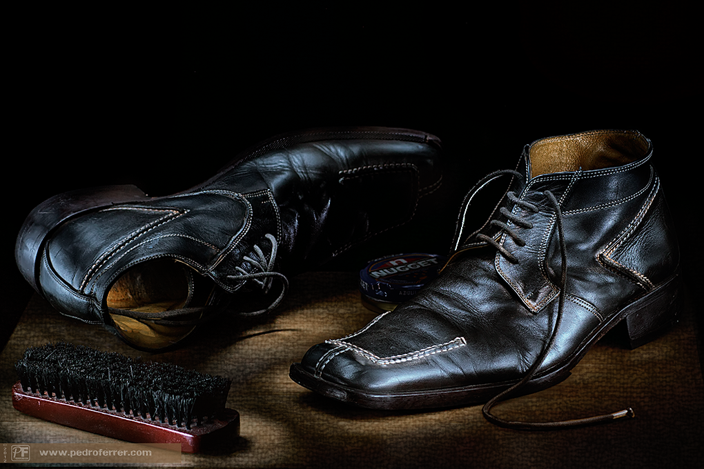 Dos viejos zapatos