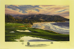 The 9th Hole, Pebble Beach Golf Links, Pebble Beach, California