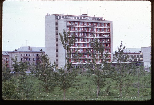 Apartment from Volga River, Dubna, 1969