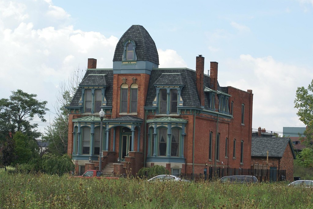 Detroit's Abandoned Mansions - a photo on Flickriver
