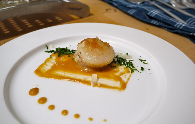 Scallops with miso sauce | Flickr - Photo Sharing!