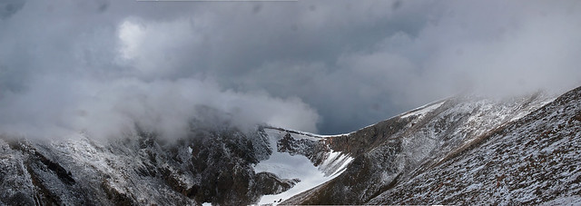 Snow Squall in the James Peak Wilderness