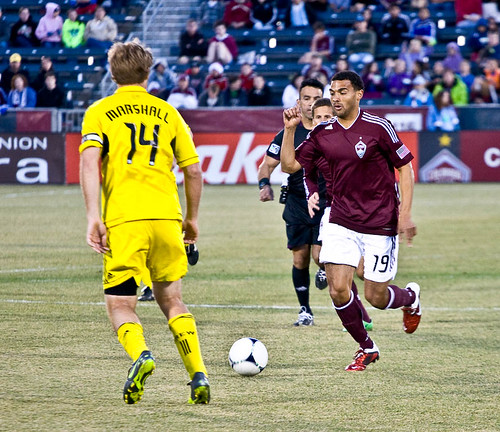 Rapids vs. Crew 2012 Andre Akpan by CE's Photography