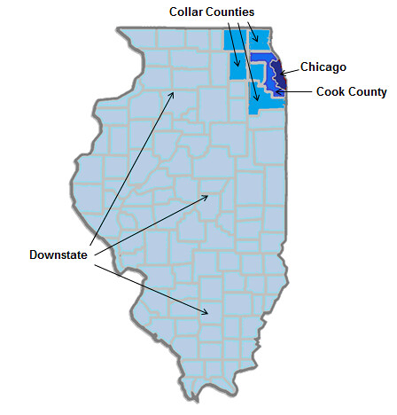 For Romney and Santorum a Battle of Chicago Versus Illinois  The