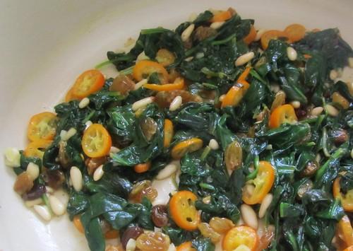 Spinach & Kumquats