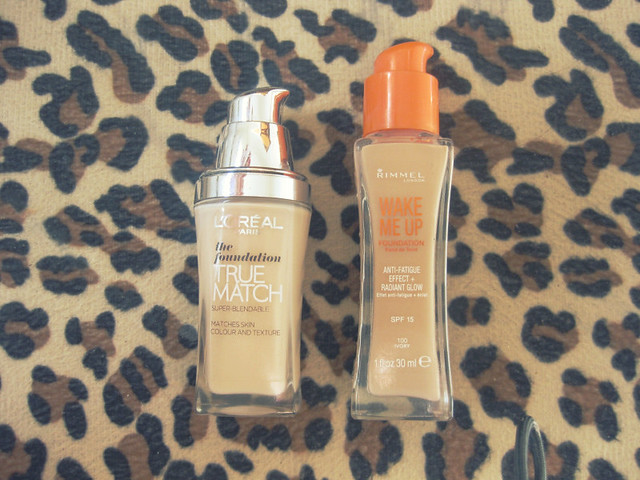 Foundation Rimmel and L'Oreal