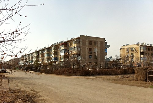 Appartement buildings in Turkmenabat