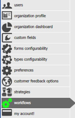 OneDesk User Preferences - Workflows