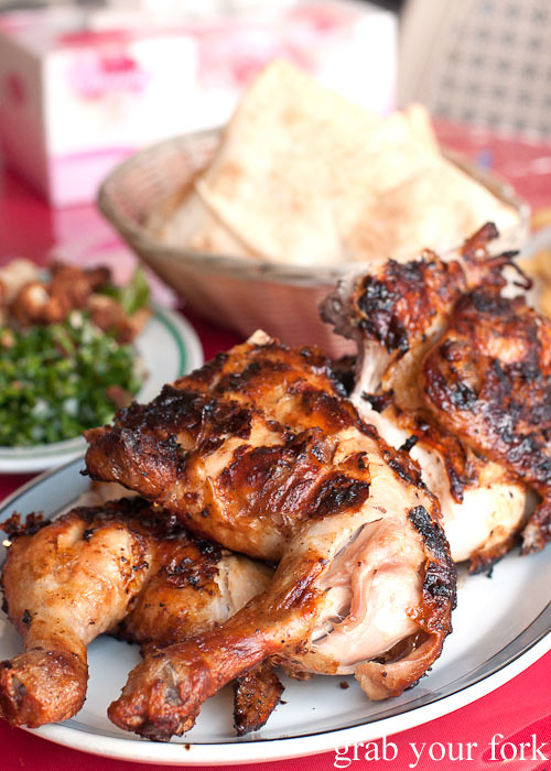 habib's charcoal chicken, bankstown