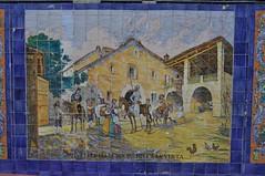 A la Plaza España de Mendoza
