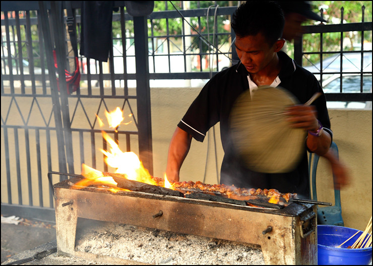 cooking-satay