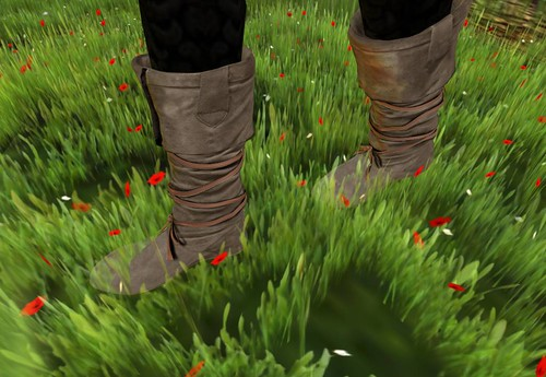 COCO Gift SuedeBoots (Mesh) by Cherokeeh Asteria