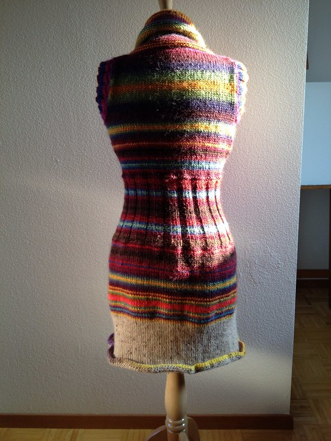 Sweater dress! Back