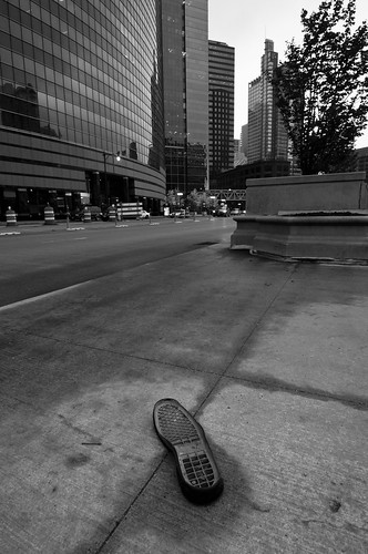 A Lonesome, Lost Sole, Out on the Streets
