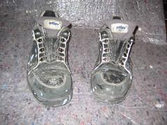 Schuhe - vorher