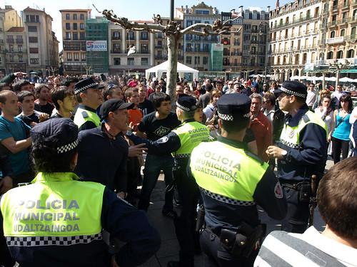 #MartxokoIraultza Gaztelu Plazan2