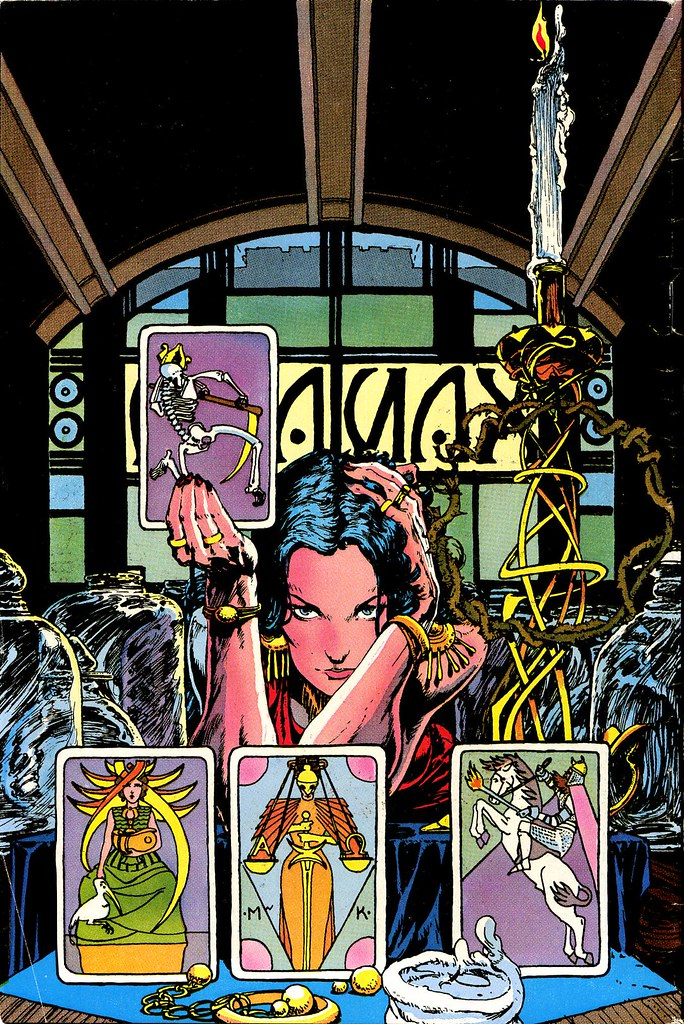 Madame Xanadu 1 cover sans logo by Michael Kaluta
