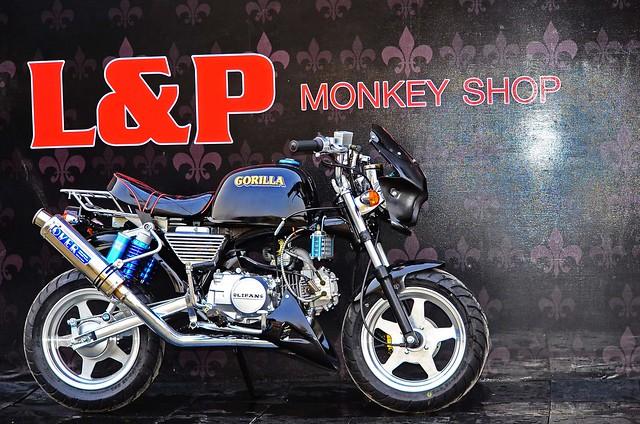 มังกี้ แต่ง 125 cc