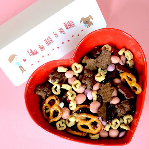 Schön Homemade Trail Mix Valentine Snack Recipe U2014 Dishmaps