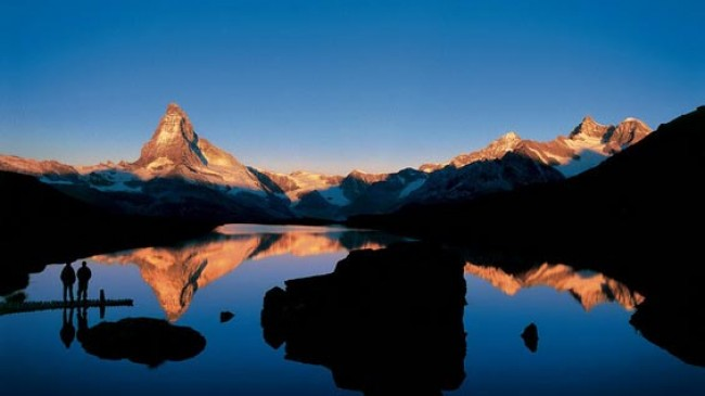 Jazerná cesta Zermatt