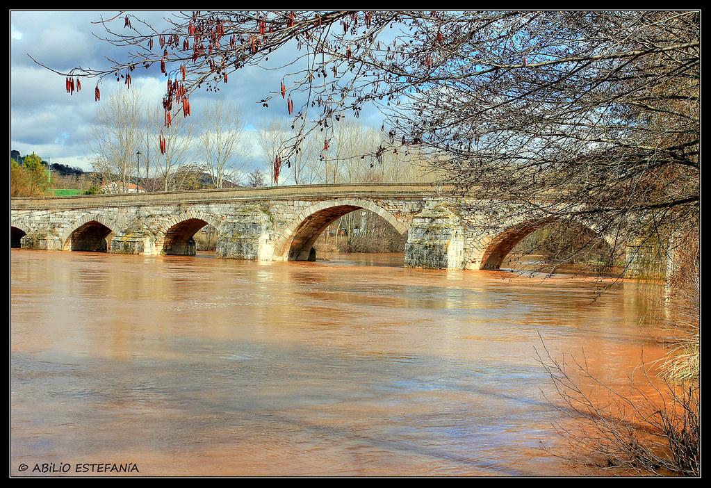 Puente sobre el Arlanza en Puentedura