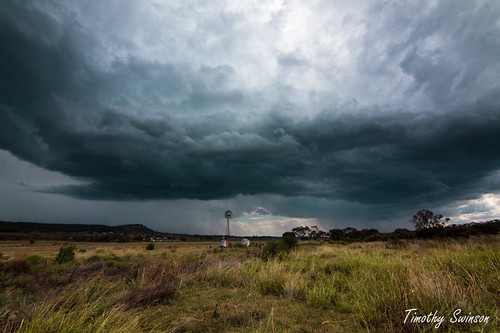 Storm between Oakey and Gowrie 2