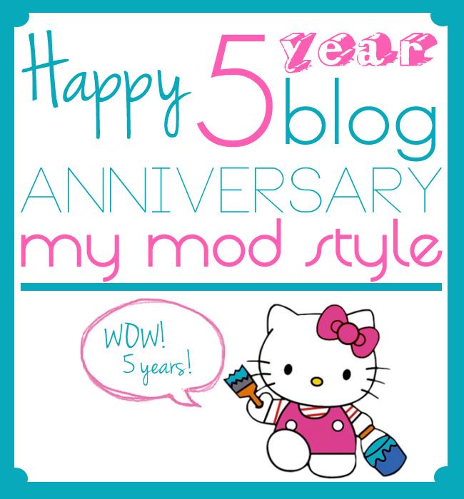 5yr blog anniversary