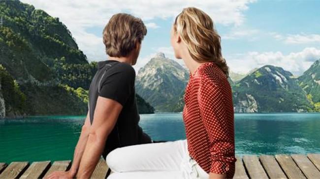 Švajčiarske Alpy v lete