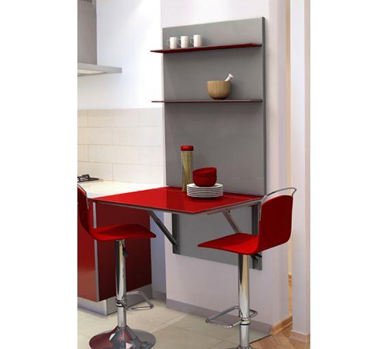 Mesa de cocina con taburetes en rojo flickr photo sharing - Tipos de loseta para cocina ...