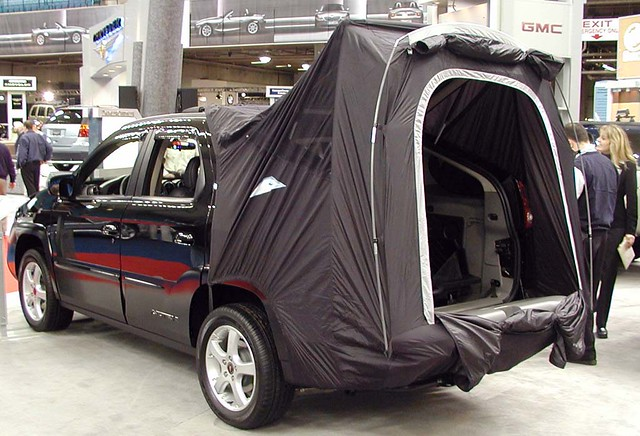 Remember the beloved Aztec and itu0027s portable built in tent? & Recline Flat Front Seat Modification - Chevy Sonic Owners Forum