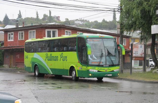 Bus Marcopolo 248 de Pullman Sur