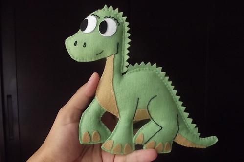 Dinossauro by Fiapinho Ateliê