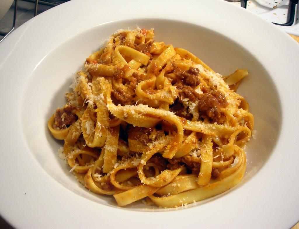 Tagliatelle with Marcella Hazan's Bolognese Sauce | The ...