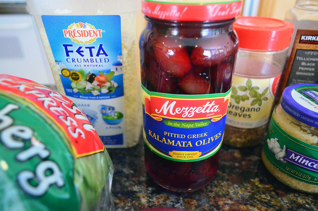 A close up of the jar of Mezzetta pitted Greek Kalamata Olives.