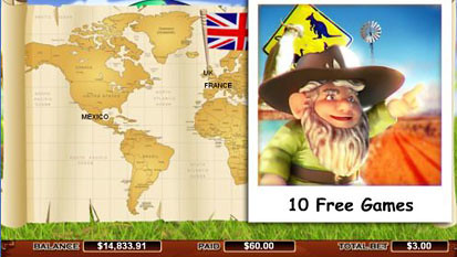 Roamin Gnome™ Slot Machine Game to Play Free in Cryptologics Online Casinos