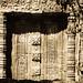 Door carved in stone
