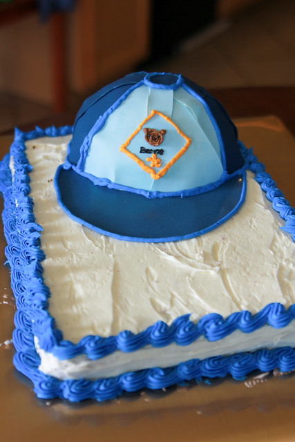 Boy Scout Blue And Gold Banquet Cake Ideas
