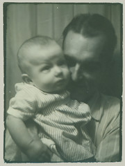 Photobooth Dad and Baby