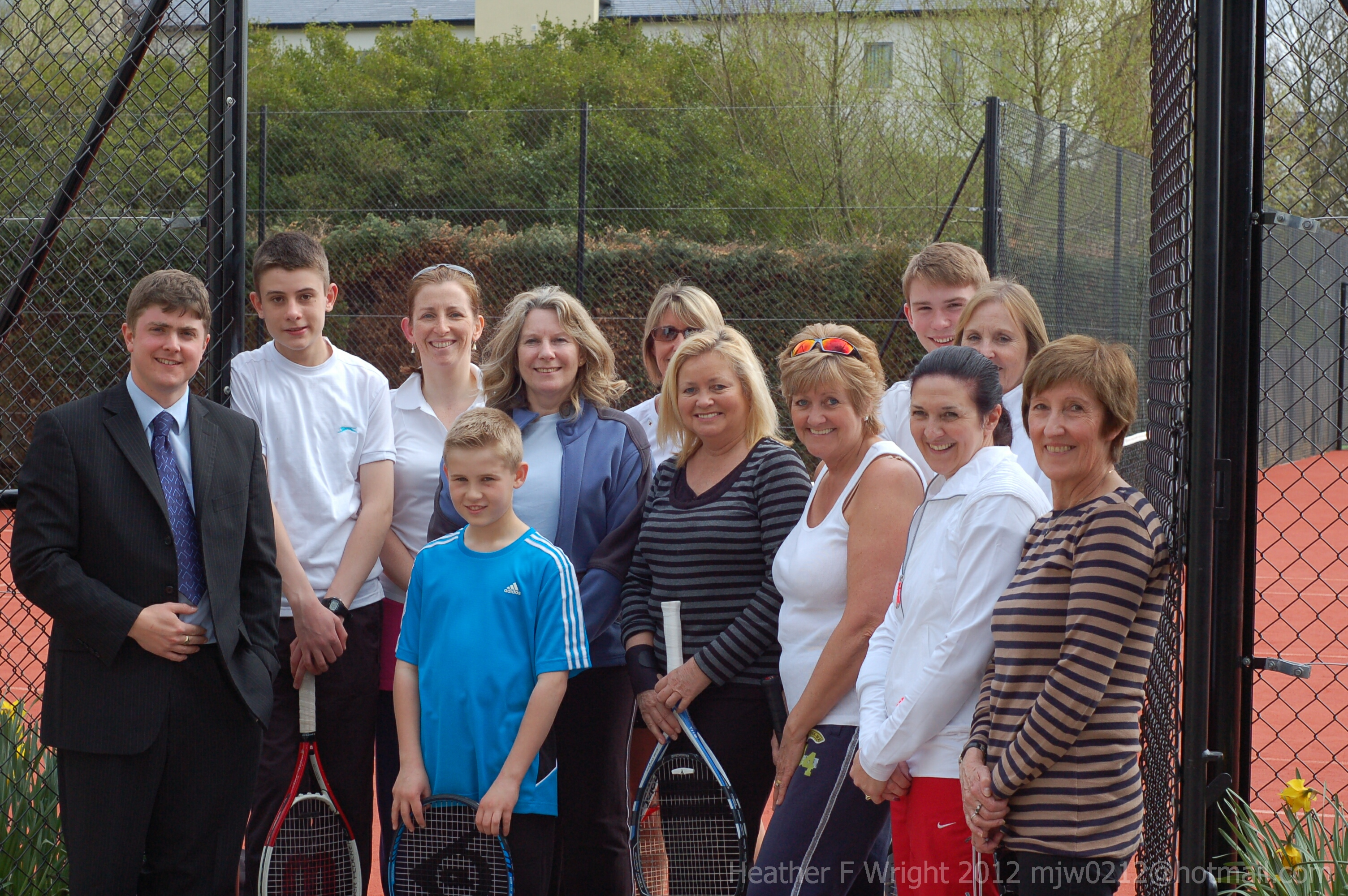 Ormskirk Tennis Club Re-Opens April 7th 2012