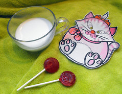 Unique leather hand painted coaster. OOAK coaster. Great gift for kids