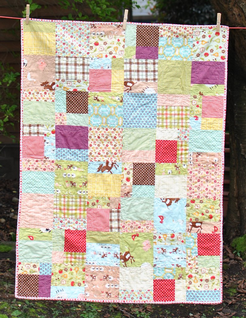Baby girl quilts from Farm Fresh