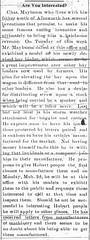 Maybaum inventions, 1903