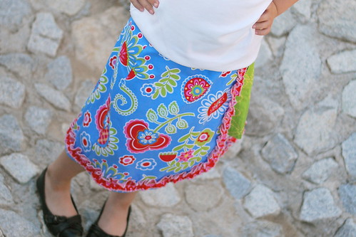 Little Urban Girls Wrap Skirts