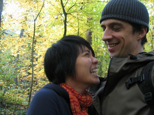 Laughing in the Grünewald