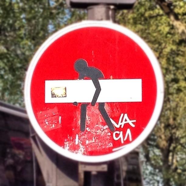 stolen sign