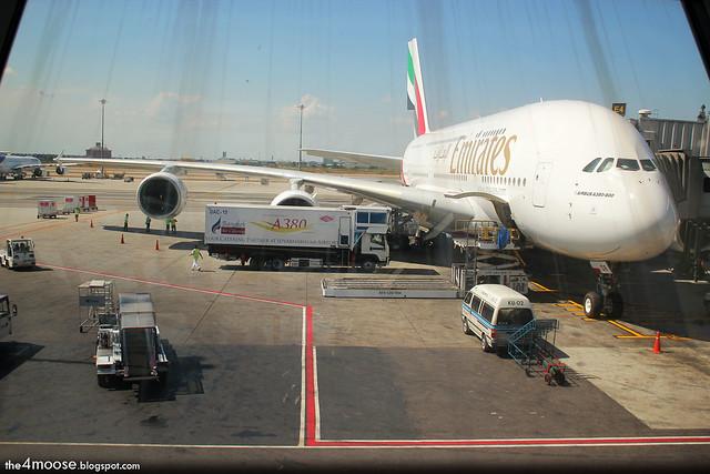 EK 384 - The A380